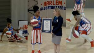 Female Harlem Globetrotter Is First to Break Guinness World Record