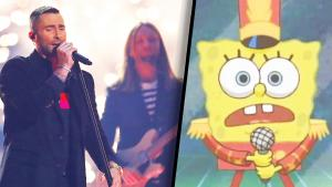 SpongeBob Appears in Super Bowl Halftime Show After Online Petition