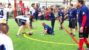 Wounded Warrior Amputees Face Off Against Former Football Stars
