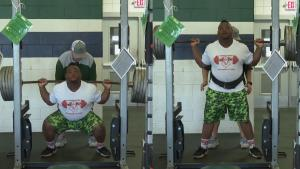 Texas High School Student Breaks State Record With 850-Pound Squat