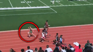 Teen Runs Fastest 100-Meter Dash in High School History