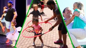 Hero Dads Dance, Sing and Support Their Kids in the Best Possible Ways