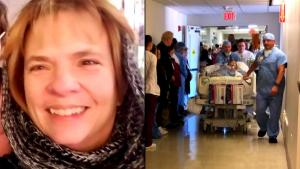 200 People Show Up for Nurse's Honor Walk as She's Taken for Organ Donation