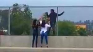 How 2 Women Talked Man Clinging to Overpass Out of Killing Himself
