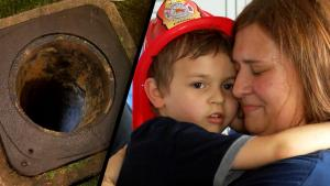 Rescuers Use Swing Set Seat to Pull 5-Year-Old From Storm Drain