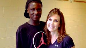Teacher Helps Former Student Get Housing After He's Released From Jail