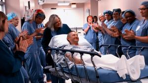 Marine Who Missed Graduation Due to Surgery Gets Salute From Hospital Staff