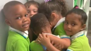 Preschooler Who Was Trapped by Hurricane Hugs Pals in Adorable Florida Reunion