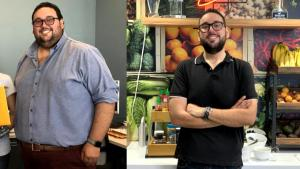 This Man Lost Almost 300 Pounds Working for Instacart