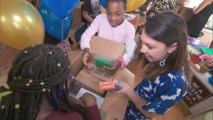 Massachusetts Junior High Schoolers Surprise Teachers With Tons of Supplies