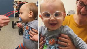 Boy Beams After Undergoing Cataract Surgery That Lets Him See The World