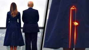 White House Calls Controversy Over Coat Melania Wore on 9/11 'Ridiculous'
