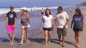 Shark Attack Survivors' Club Returns to Ocean: 'We're Here for Each Other'