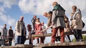 Longest Viking Bridge in the World Made the 'Viking' Way With No Machinery