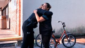 Florida Cop Surprises Homeless Woman With Bike After Hers Was Taken