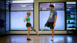 11-Year-Old Amputee Gets Dance Lessons From 1-Legged Tap Dancer Lord Pegleg