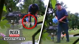 Parents Set Up Camera to Catch Who's Stealing From Son's Grave