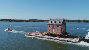 How This Man Moved His Historic Home Across a River