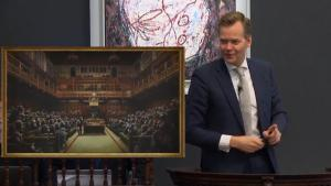 Banksy Criticizes Record-Breaking $12 Million Sale of 'Devolved Parliament'
