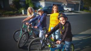 Kids Hop on Bikes to Help Cops Search for Missing 97-Year-Old