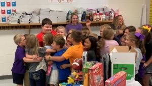 3rd Graders Hold Secret Toy Drive for Classmate Whose House Burned Down