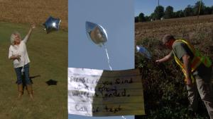 Illinois Woman Meets Long-Lost Cousin Who Finds Balloon She Sent in Air