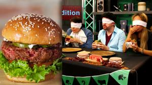 Can We Tell Real Meat from Imitation Meat in a Blindfolded Taste Test?