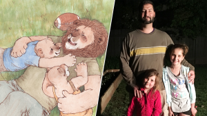 Military Dad Writes Children's Book to Teach Daughters About PTSD