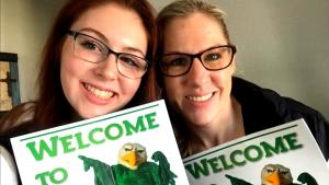 This 16-Year-Old Goes to College With Mom, Who She Inspired to Go Back to School