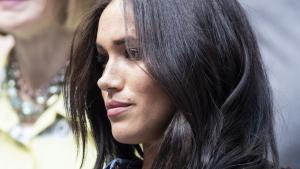 Meghan Markle Fights Back Tears: 'It's Really Been a Struggle'