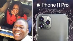 Oprah Surprises Georgia Student With New iPhone