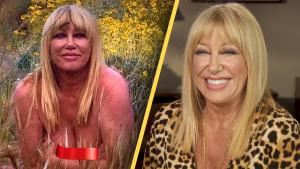 Suzanne Somers Says 'Too Darn Bad' to Nude Birthday Photo Haters
