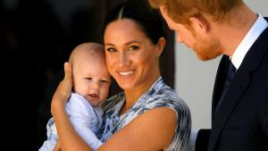 Meghan Markle's Son Archie Is Now Crawling