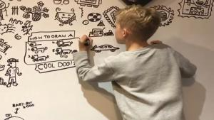 10-Year-Old Who Got in Trouble for Doodling at School Is Now In-Demand Artist