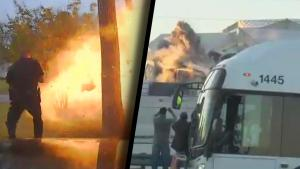 Terrifying Explosions That Everyone Walked Away From