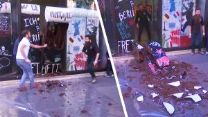 Paris Candyman Makes Chocolate Berlin Wall and Then Tears It Down