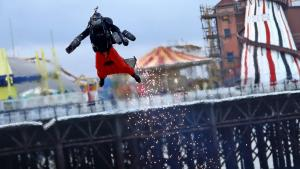 Real Life 'Iron Man' Breaks Guinness World Record in Jet Engine-Powered Suit