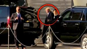 Mystery Surrounds President Trump's Visit to Walter Reed Medical Center