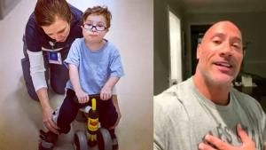 'The Rock' Sends Sweet Message to 3-Year-Old Cancer Patient Who Loves Maui