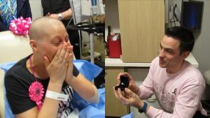 Man Proposes to Girlfriend in Hospital on Her Last Day of Chemotherapy