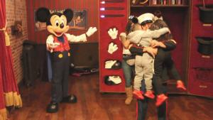 Mickey Mouse Works His Magic to Reunite 2 Kids With Military Dad at Disney World