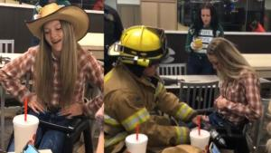 15-Year-Old On Getting Stuck in Idaho Chick-fil-A High Chair