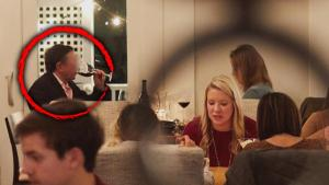 Wife Says She Caught Husband Allegedly Cheating in Restaurant Review Photo