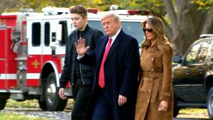 How Barron Trump Was Made Focus of President's Impeachment Hearings