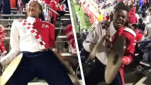 This Marching Band Member's Cymbal Performance Will Get You Hyped For Football
