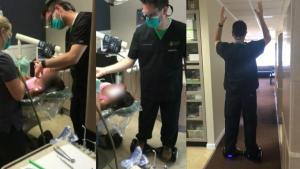 Alaska Dentist On Trial For Extracting Tooth While Standing on Hoverboard