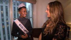 Miss Universe Zozibini Tunzi on Being a Role Model for Young Women