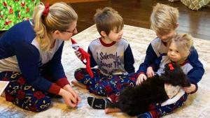 2-Year-Old Gets Puppy From Kind Stranger Weeks After Heart Transplant
