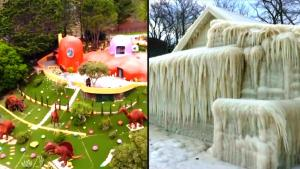 From an Ice House to the Flintstones: The Most Insane Homes