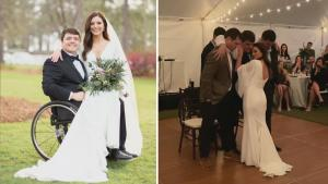 How Paralyzed Groom Was Able to Dance With Wife at Wedding